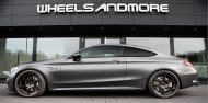 Tuning AMG C63 Mercedes Coupe 190x94 Startrack 6.8   680PS Mercedes C63 AMG Coupe C205 by WAM