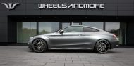 Tuning Mercedes C63AMGS Wheelsandmore 190x94 Startrack 6.8   680PS Mercedes C63 AMG Coupe C205 by WAM