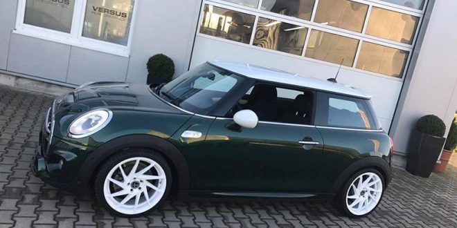 Heftig – 299 PS & 500 NM im Versus Performance MINI Cooper S