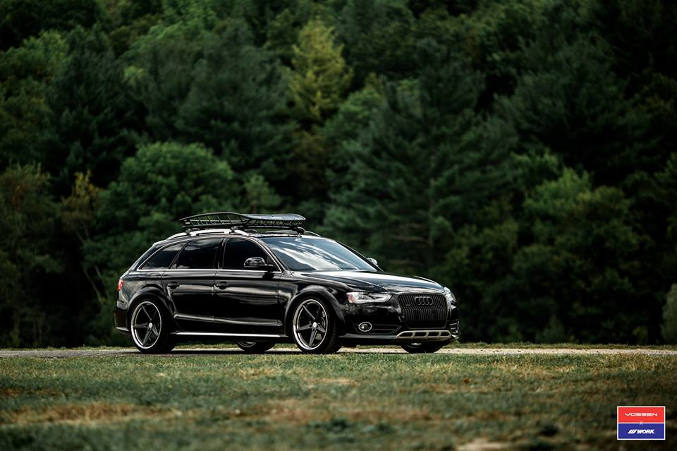 elegant vossen vws 3 felgen am audi a4 b8 allroad magazin. Black Bedroom Furniture Sets. Home Design Ideas