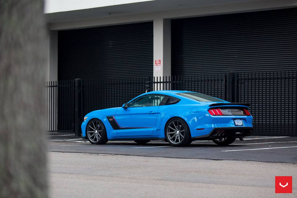 Vossen Wheels VFS 10 Felgen Roush RS3 Ford Mustang Tuning 17 Vossen Wheels VFS 10 Felgen am Roush RS3 Ford Mustang