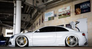 Widebody Audi A5 RS5 Coupe ADV.1 Wheels Tuning 310x165 BMW E60 M5 mit M4 Tagfahrleuchten by tuningblog