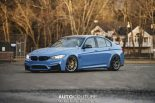 Yas Marina Blue BMW M3 F80 BBS Carbon Fiber StopTech Tuning 11 155x103 AUTOcouture Motoring BMW M3 F80 in Yas Marina Blau