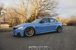 Yas Marina Blue BMW M3 F80 BBS Carbon Fiber StopTech Tuning 15 155x103 AUTOcouture Motoring BMW M3 F80 in Yas Marina Blau