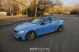 Yas Marina Blue BMW M3 F80 BBS Carbon Fiber StopTech Tuning 16 155x103 AUTOcouture Motoring BMW M3 F80 in Yas Marina Blau