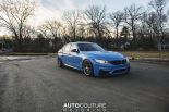 Yas Marina Blue BMW M3 F80 BBS Carbon Fiber StopTech Tuning 17 155x103 AUTOcouture Motoring BMW M3 F80 in Yas Marina Blau