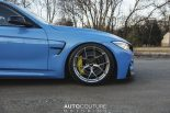 Yas Marina Blue BMW M3 F80 BBS Carbon Fiber StopTech Tuning 2 155x103 AUTOcouture Motoring BMW M3 F80 in Yas Marina Blau