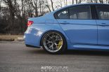 Yas Marina Blue BMW M3 F80 BBS Carbon Fiber StopTech Tuning 4 155x103 AUTOcouture Motoring BMW M3 F80 in Yas Marina Blau