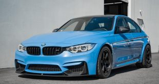 Yas Marina Blue BMW M3 F80 Volk Racing TE37RT Tuning 11 310x165 18 Zoll Volk Racing TE37RT Felgen an der BMW M3 F80 Limo