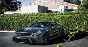 Zito ZS05 Wheels Widebody Kit Mercedes SL Tuning 6 310x165 Mit Zito Wheels & Widebody Kit ist dieser Mercedes SL gerüstet