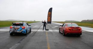 alfa romeo giulia races mercedes amg a45 tuning 2 310x165 Video: Dragrace   450PS Mercedes A45 AMG vs. Alfa Romeo Q.