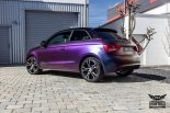 Audi A1 Rushing Riptide Folierung Tuning 15 155x103 Audi A1 in Rushing Riptide by SchwabenFolia CarWrapping.de
