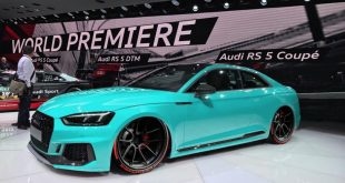 Audi RS 5 Coupe 2017 ADV.1 Wheels Tuning 310x165 Audi RS 5 Coupe (2017) auf schwarzen ADV.1 Wheels Alu's