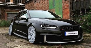 Audi RS3 8VA Rotiform QLB Tuning 310x165 Black Audi RS3 (8VA, 2015) on white Rotiform QLB Alu's