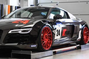 Audi R8 V10 Folierung LMS Tuning Rennen Forged 10 310x205 M&D exclusive cardesign   Audi R8 V10 im LMS Cup Style
