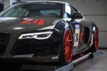 Audi R8 V10 Folierung LMS Tuning Rennen Forged 11 155x103 M&D exclusive cardesign   Audi R8 V10 im LMS Cup Style