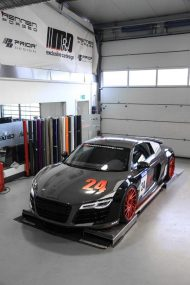 Audi R8 V10 Folierung LMS Tuning Rennen Forged 15 190x285 M&D exclusive cardesign   Audi R8 V10 im LMS Cup Style