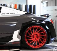 Audi R8 V10 Folierung LMS Tuning Rennen Forged 18 190x172 M&D exclusive cardesign   Audi R8 V10 im LMS Cup Style