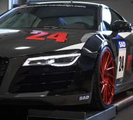 Audi R8 V10 Folierung LMS Tuning Rennen Forged 20 190x172 M&D exclusive cardesign   Audi R8 V10 im LMS Cup Style