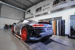Audi R8 V10 Folierung LMS Tuning Rennen Forged 7 155x103 M&D exclusive cardesign   Audi R8 V10 im LMS Cup Style
