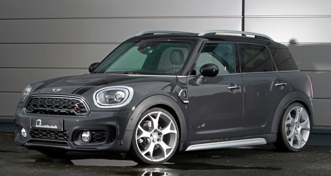 BB Automobiltechnik Mini Countryman S Tuning 2017 3 B&B Automobiltechnik Mini Countryman S mit 275PS & 385NM