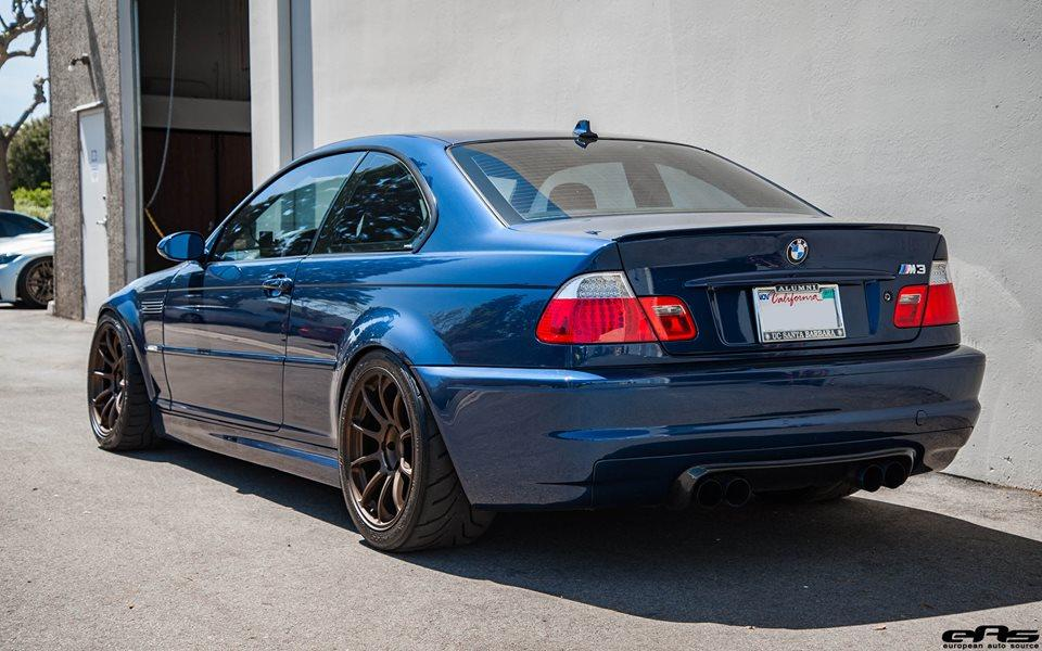 bmw e46 m3 mystic blue volk racing ze40 tuning 3 magazine. Black Bedroom Furniture Sets. Home Design Ideas