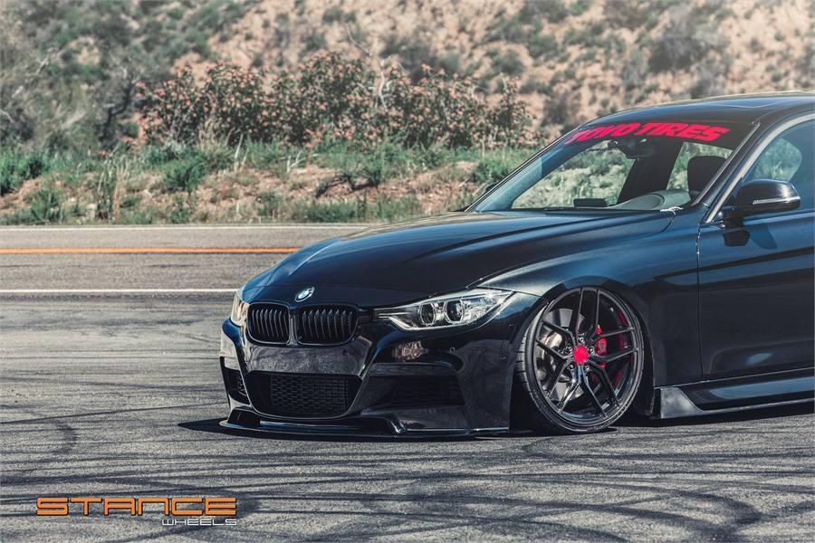 BMW F30 335i Limo Bodykit Stance SF03 Felgen Tuning 6 BMW F30 335i Limo mit Bodykit & Stance SF03 Felgen