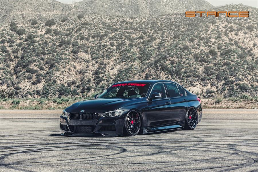 Bmw F30 335i Limo With Body Kit Stance Sf03 Wheels