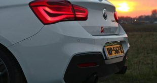 BMW M140i Akrapovic Evolution Sportauspuff Tuning 2017 F20 1 310x165 Video: Soundcheck   BMW M140i mit Akrapovic Sportauspuff