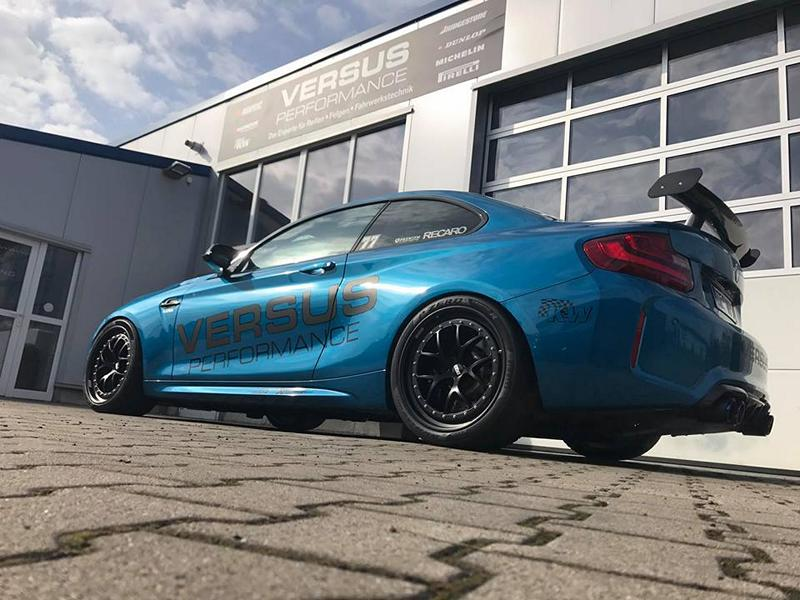 BMW M2 F87 Coupe Chiptuning Versus Performance 7 Versus Performance   BMW M2 F87 Coupe mit 480PS & 630NM