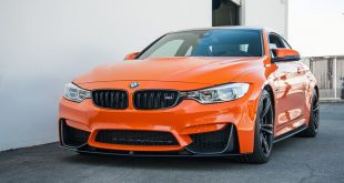 BMW M4 F82 Coupe Fire mit M Performance Parts Tuning 2 310x165 BMW M4 F82 Coupe in Fire Orange mit M Performance Parts