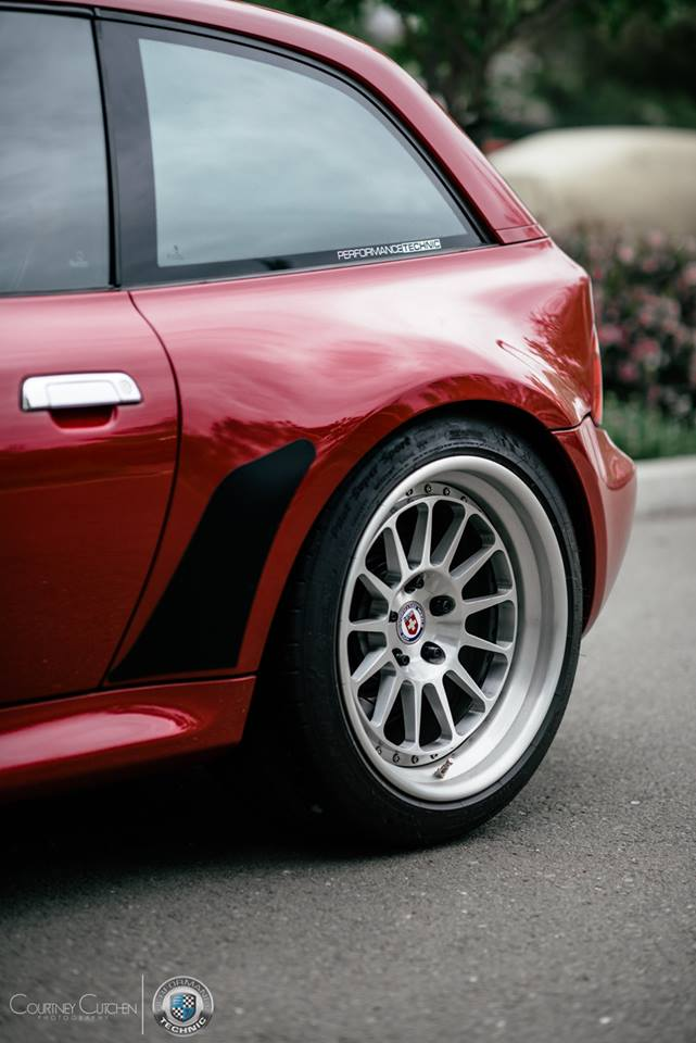 BMW Z3 M Coupe HRE Classic 300 Felgen Tuning 3 Klassiker   BMW Z3 M Coupe auf HRE Classic 300 Felgen