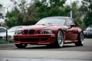 BMW Z3 M Coupe HRE Classic 300 Felgen Tuning 4 190x127 Klassiker   BMW Z3 M Coupe auf HRE Classic 300 Felgen