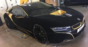 BMW i8 Velvet Black Folierung Lexani Wriath Tuning 9 310x165 Video: BMW i8 von Austin Mahone mit Velvet Folierung in Schwarz