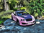 "Bentley Continental GT Sonderedition Tuning Rosa 2 155x116 Pinke Versuchung   Bentley Continental GT ""Sonderedition"""