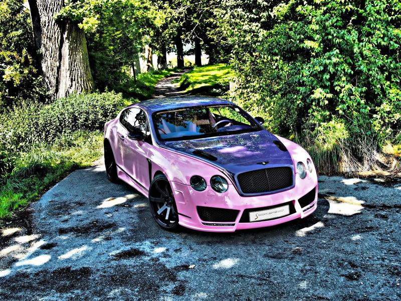 "Bentley Continental GT Sonderedition Tuning Rosa 2 Pinke Versuchung   Bentley Continental GT ""Sonderedition"""