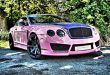 "Bentley Continental GT Sonderedition Tuning Rosa 3 110x75 Pinke Versuchung   Bentley Continental GT ""Sonderedition"""