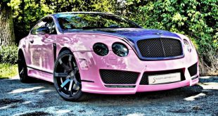 "Bentley Continental GT Sonderedition Tuning Rosa 3 310x165 Pinke Versuchung   Bentley Continental GT ""Sonderedition"""