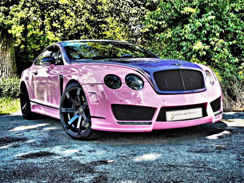 "Bentley Continental GT Sonderedition Tuning Rosa 3 Pinke Versuchung   Bentley Continental GT ""Sonderedition"""