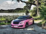 "Bentley Continental GT Sonderedition Tuning Rosa 4 155x116 Pinke Versuchung   Bentley Continental GT ""Sonderedition"""