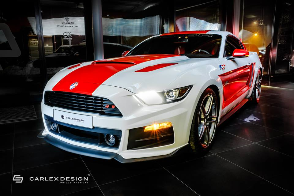 Carlex Design Roush Ford Mustang GT Stage 2 Tuning 19 Top Carlex Design veredelt den Roush Ford Mustang GT