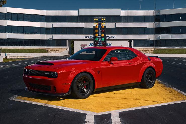 Dodge Challenger SRT Demon 2017 Tuning 31 Geplant: Hennessey Performance Dodge Challenger Demon HPE1500