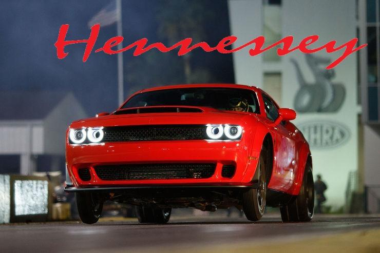 Dodge Challenger SRT Demon 2017 Tuning Hennessey Geplant: Hennessey Performance Dodge Challenger Demon HPE1500
