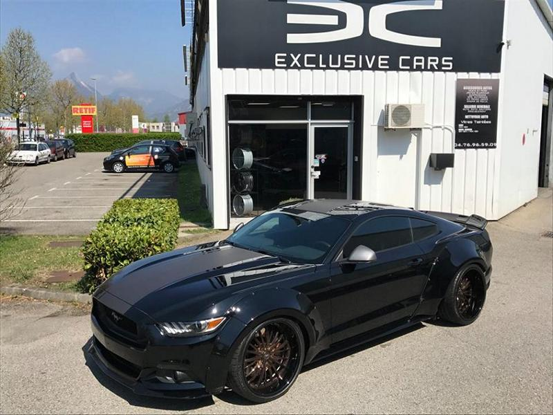 Exclusive cars Widebody Ford Mustang GT 21 Zoll Tuning 11 Exclusive cars   Widebody Ford Mustang GT auf 21 Zoll