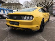 Ford Mustang LAE Tuning Oxigin 18 Felgen 7 190x143 Ford Mustang LAE in Gelb auf schwarzen Oxigin 18 Felgen
