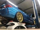 KW Variante 3 Chiptuning BBS 10.00x19 BMW M2 F87 Coupe Tuning 1 135x101 KW Variante 3 & goldene BBS Alu's am BMW M2 F87 Coupe