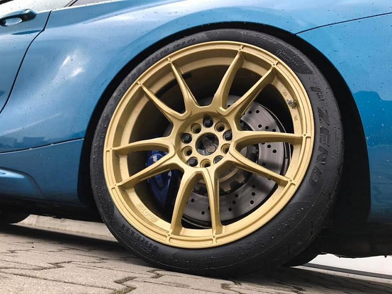 KW Variante 3 Chiptuning BBS 10.00x19 BMW M2 F87 Coupe Tuning 10 KW Variante 3 & goldene BBS Alu's am BMW M2 F87 Coupe