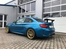 KW Variante 3 Chiptuning BBS 10.00x19 BMW M2 F87 Coupe Tuning 12 135x101 KW Variante 3 & goldene BBS Alu's am BMW M2 F87 Coupe
