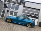 KW Variante 3 Chiptuning BBS 10.00x19 BMW M2 F87 Coupe Tuning 14 135x101 KW Variante 3 & goldene BBS Alu's am BMW M2 F87 Coupe