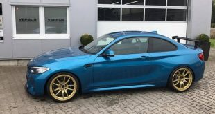 KW Variante 3 Chiptuning BBS 10.00x19 BMW M2 F87 Coupe Tuning1 310x165 1:08,2 Minuten! Versus Performance BMW M2 in Hockenheim